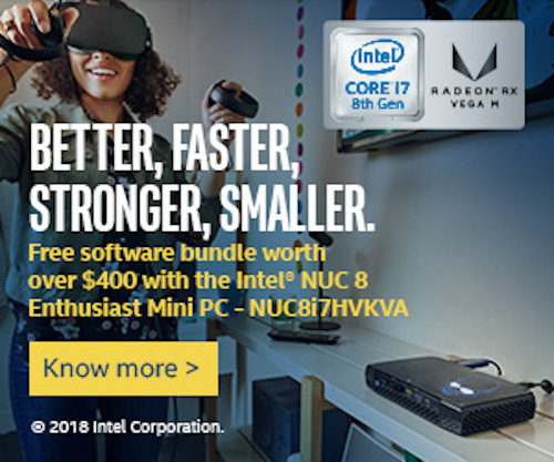 Intel NUC8 Enthusiast